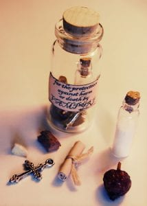 Witches Bottles